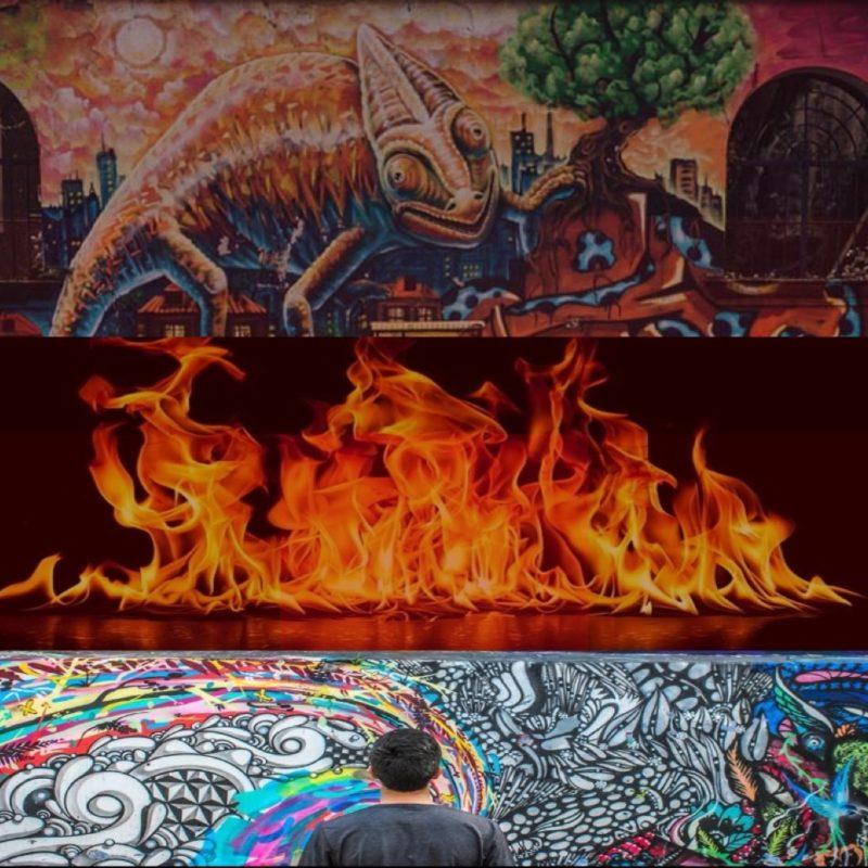 Il murale di murales