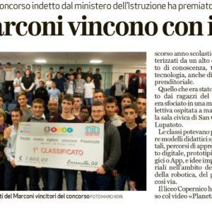 Articolo Arena finale provinciale premio scuola digitale